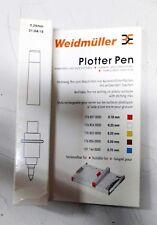 Weidmuller 1768540000 Plotter Pen 0.25, White