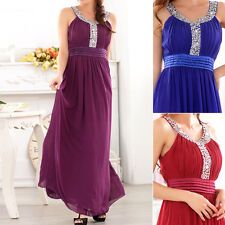 Womens Ladies Wedding Evening Cocktail Formal Dress Size 10 12 14 16 18 #5269