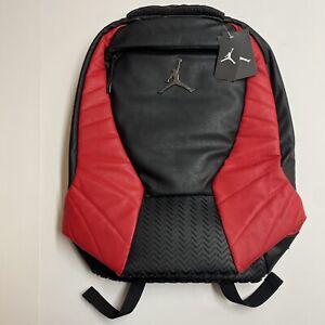 Air Jordan Retro 12 XII Laptop Backpack Black/Gym Red/Grey [9A1773-KR5]Free Ship