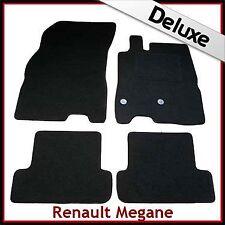 Renault Megane Mk3 Coupe 2008-2016 Tailored LUXURY 1300g Car Floor Mats BLACK