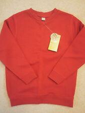 BNWT TU boy's red long sleeved school sweatshirt age 5 years