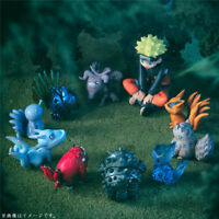 Anime Uzumaki Naruto Nine tailed beast PVC Action Figure Collectible Toy gifts