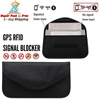 Signal Blocking Bag RFID Faraday Bag Shield Cage Pouch Phone Wallet Anti Track