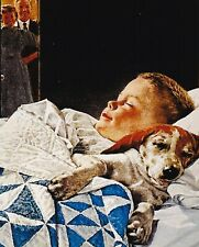 Norman Rockwell A Boy And His Dog 8 x 10 Art Print