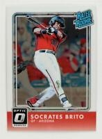 2016 Donruss Optic #58 Socrates Brito RR RC - NM-MT