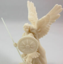 "NEW! 4"" White St Saint Raphael Archangel Patron of Healing Traveling Statue 3266"