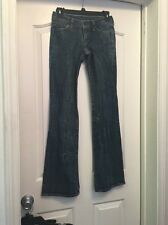 COH CITIZENS OF HUMANITY A76 Cotton Blend Blue Boot Cut Jeans Size 24 (24x31)