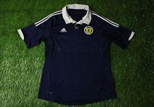 SCOTLAND NATIONAL TEAM 2011/2013 FOOTBALL SHIRT JERSEY HOME ADIDAS ORIGINAL