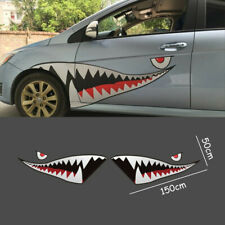 59'' Car Boat Vinyl Decal Sticker Shark Mouth Tooth Graphics Die-Cut Waterproof