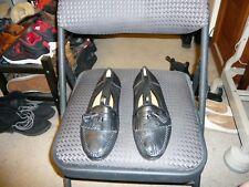 Maus & Hoffman Black Calf Leather Moccasin, Size EU 41.5, US 8.5 M
