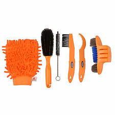 Bike Cleaning Tool Kit Cycling Tire Brush Chain Wash Brake Disc Cleaner Tools