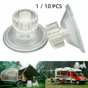 1/10 Pcs High-Grip Awning Suction Cup Fixing Pads Caravan Motorhome Organiser