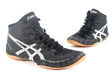 Asics Matflex J504N Wrestling Sneaker Light US 8 EU 39.5 Black Silver 504N EUC