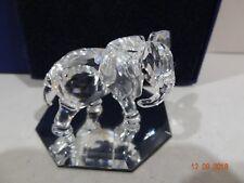 Vintage Swarovski Crystal Little Elephant 7610 000 009 / 674587 Mint w/ Box