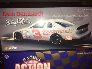 Nascar Dale Earnhardt #3 25th Anniversary Cup Series Silver 1:24 Scale Diecast