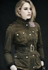 Barbour Heritage international Womens Waxed Jacket US 8 Medium