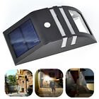 Outdoor PIR Motion Sensor Solar Powered LED Path Wall Light Garden Security Lamp
