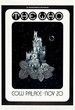 El cartel concierto que Palacio de vaca (1969) - Concierto Cartel Pared Arte