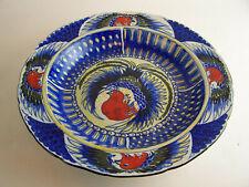 A FREDERICK RHEAD Hand Painted ROYAL CAULDON Turkey Platter -.c1930