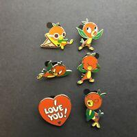 WDW - 2011 Hidden Mickey Series - Orange Bird Collection 6 Pins Disney Pin 82367