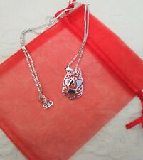 Siberian Husky Silver coloured necklace