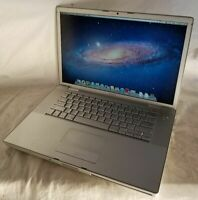 """Apple Macbook Pro 15"""" Core 2 Duo 2.2 GHz 2007 4 GB Ram 120 GB HDD Lion A1226"""