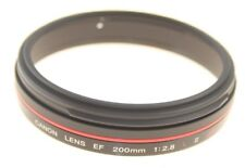 CANON EF 200MM F2.8L II USM EF SINGLE L SERIES LENS FILTER RING YG9-0474-000 NEW