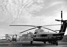 SABENA SIKORSKY S.58 HELICOPTER S58 A3 POSTER PRINT PICTURE PHOTO IMAGE