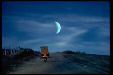 480092 Amish Buggy A4 Photo Print