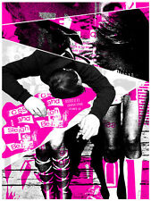 Sleigh Bells & CSS May 2011 Limited Edition Gig Poster