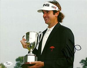 Bubba Watson Hand Signed 8x10 Photo PGA JSA #I70592 Masters Winner