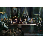 Scarface Last Supper of Gangs Movie Silk Poster Print 12x18 24x36 inch Al Pacino