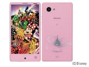 DOCOMO SHARP DM-01H DISNEY AQUOS COMPACT PHONE ANDROID 4K UNLOCKED JAPAN NEW