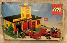 Vintage Lego 374 Fire Station Set 100% Complete & Boxed Rare 1978