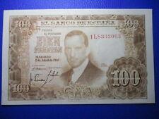 BILLETE DE  100  PESETAS DE 1953  SIN CIRCULAR JULIO ROMERO