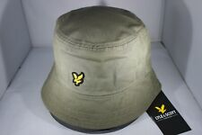 Lyle & Scott Cotton Twill Bucket Hat - Khakhi