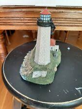1998 Harbour Lights Lighthouse Faulkner's Island Connecticut #216 signed