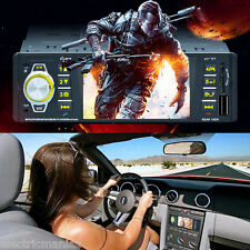 "4.1"" Autoradio 1 DIN Veicoli Bluetooth Hands-free Stereo MP5 Media Player FM AUX"