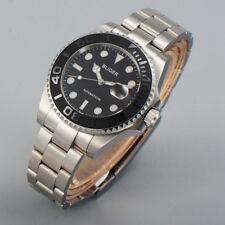 40mm BLIGER black Ceramic Bezel Luminous SUB sapphire automatic mens watch