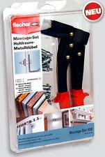 Fischer Montage Set Hohlraumbefestigung Metalldübel HM 5x52, 5x65 + Zange HM Z 3