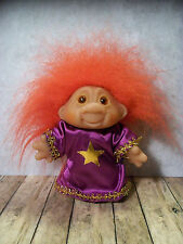 """Sweet Thomas Dam Troll - 5"""", Sorcerer Wizard Witch - Red Hair"""