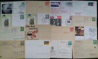 Germany 1950 Onwards 16 Postcards preprinted & Stamps some slogan Postmarks