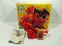 Fisher Price Imaginext Action Tech Dragon With Sounds Plus Figure
