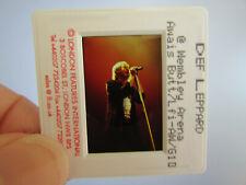 More details for original press photo slide negative - def leppard - joe elliott - 1990's - k