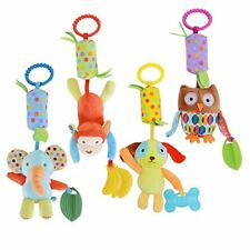 Baby Hanging Rattle Toy Infant Stroller Car Seat Crib Toys Cute Travel
