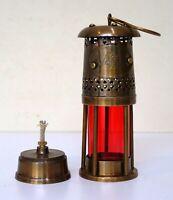 Nautical brass antique oil lamp ship hanging lantern boat christmas light gift
