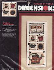 Debbie Mumm Garden Companions Stamped Cross Stitch Kit Bird Bee Dimensions