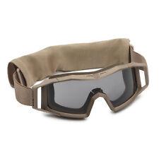 Ballistische Brille NEU US Revision Wolfspider goggles System Kit TAN w// bag