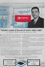 PCA CAPITAL AIRLINES 1945 C.BEDELL MONRO LOW COST AIR TRAVEL IS REALITY DC-3 AD
