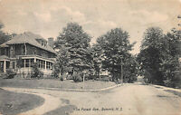 De Forest Ave, Summit, New Jersey, Early Postcard, Used in 1910